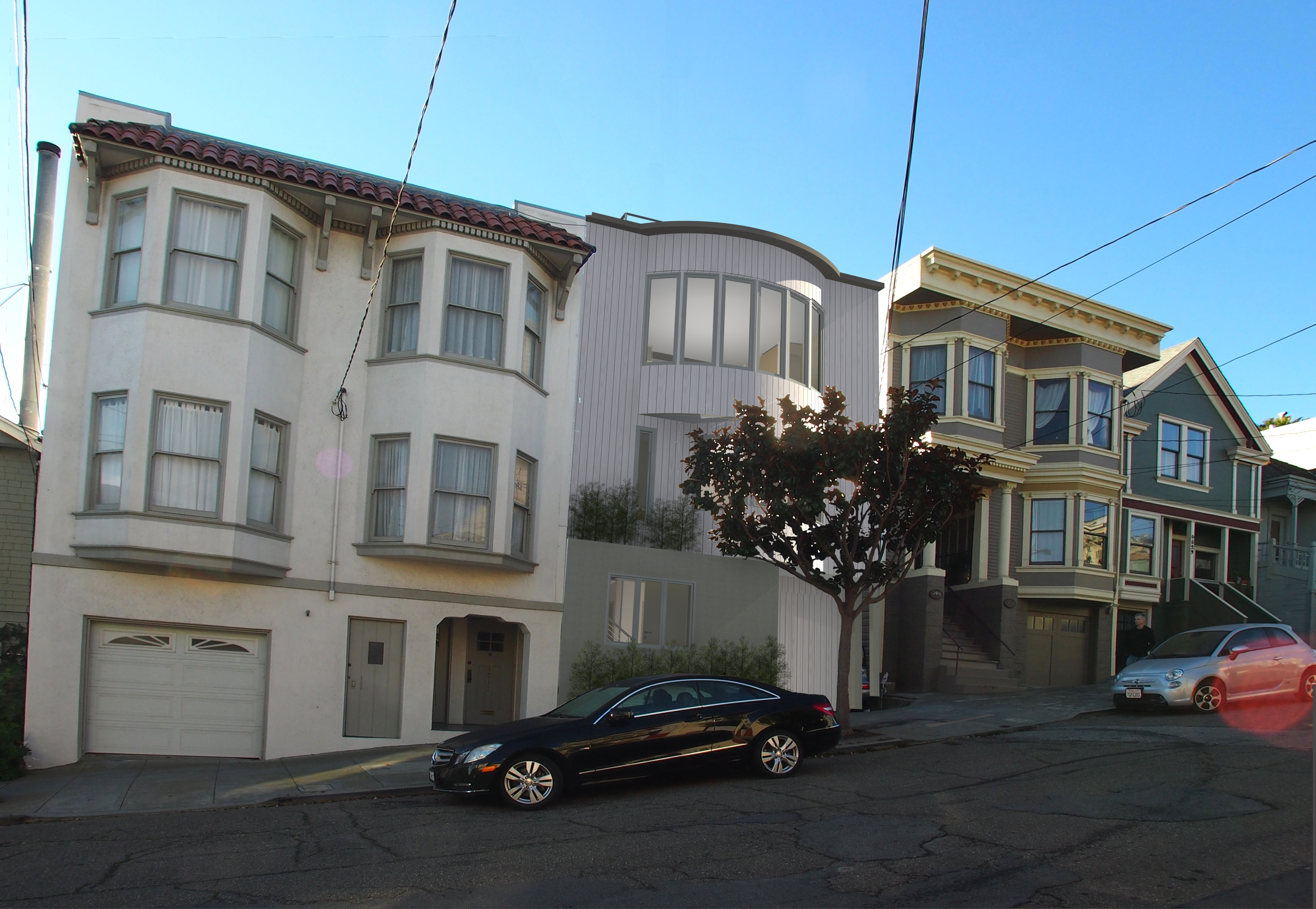 DNM Architect, Modern, Green, Residential, Custom Home, Sustainable, San  Francisco